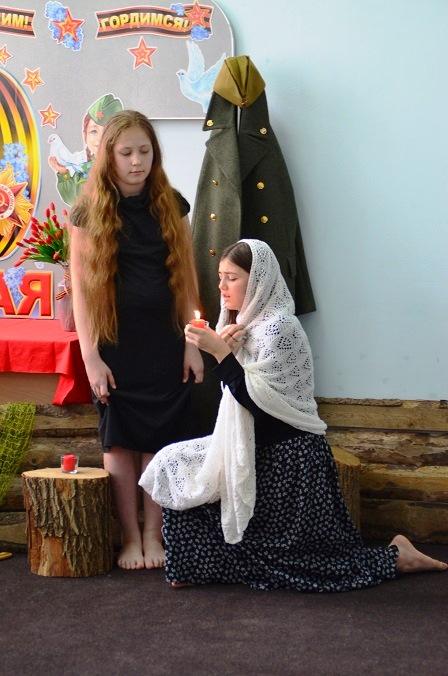 Театрализованная постановка дети войны